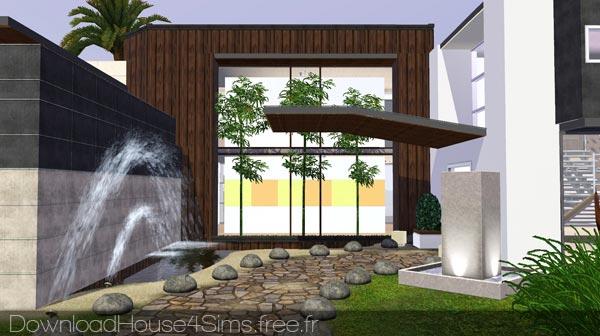 Maison archives dh4s for Maison sims 4 piscine