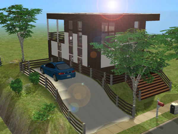 Maisons sims joy studio design gallery best design for Modele maison sims 2