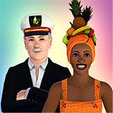 Pack de chapeaux Eaux tropicales