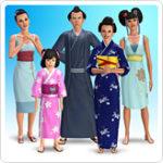 Collection de vêtements Inspiration japonaise