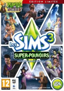 Sims 3 superpouvoirs