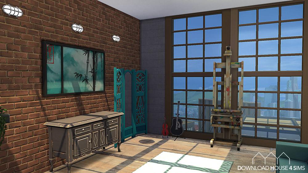 Maison-Sims-4-150-Rue-des-artistes-17